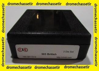 Jeux d'outils CH4D pour le rechargement en calibre 303 British