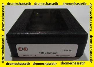 eux d'outils CH4D pour le rechargement en calibre 408 Baumann