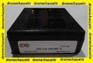 Jeux d'outils CH4D pour le rechargement en calibre 455 colt