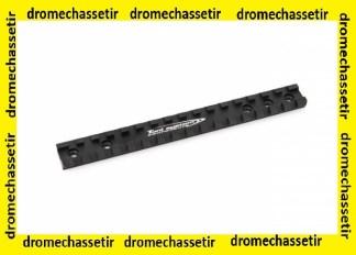rail picatinny pour carabine H&K Slb 2000, avec vis , Toni systems, Noir