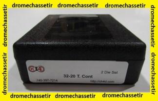 Jeux d'outils CH4D pour le rechargement en calibre 32-20 (308 Bullet T.contender)
