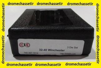 Jeu d'outils CH4D de rechargement en calibre 32-40 winchester