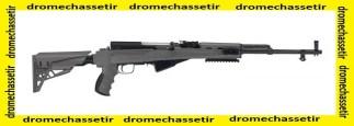 Crosse tactique ATI Strikeforce pour SKS, avec rail picatinny, gris