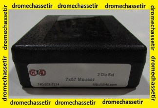 Jeu d'outils CH4D de rechargement en calibre 7x57 mauser
