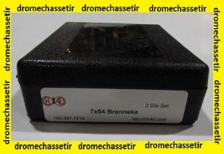 Jeu d'outils CH4D de rechargement en calibre 7x64
