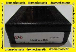 Jeux d'outils CH4D de rechargement en calibre 5,6x61 Vom Hofe
