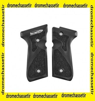 Paire de plaquettes 3D pour Beretta 92, 96 et 98 noir