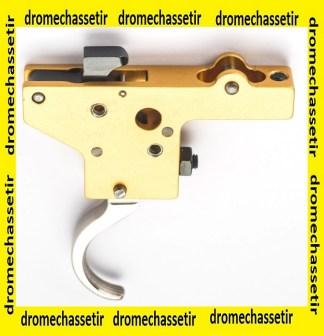 bloc détente nickelée réglable pour Mauser 98, yugo 48 et Zastava M70