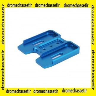 coupleur aluminium pour chargeur PMAG AR15 gen 3, bleu