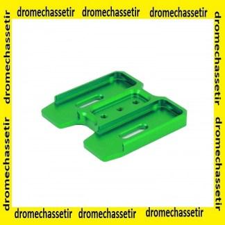 coupleur aluminium pour chargeur PMAG AR15 gen 3, vert