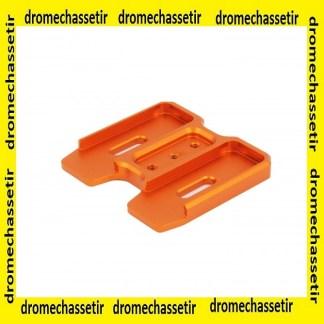 coupleur aluminium pour chargeur PMAG AR15 gen 3, orange