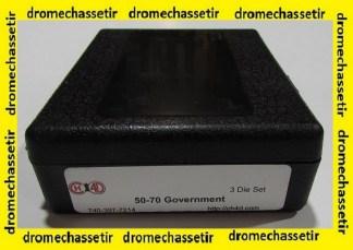 Jeux d'outils CH4D de rechargement en calibre 50/70 govnerment