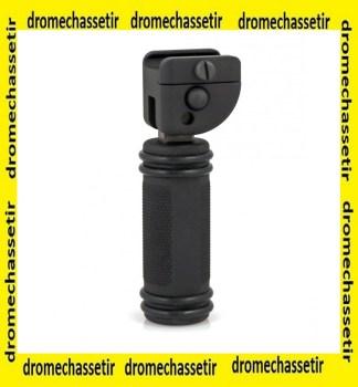 poignée accu-shot pliante pour rail picatinny noir BT27