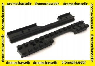 rail picatinny acier RUSAN pour carabine Anschütz 54 et 64