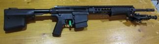 Carabine a Pompe Troy, cal 308win, chargeur 10 coups, canon 46cm frein de bouche super etat
