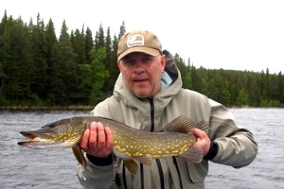 Fisketips gäddfiske inom Drömfiske. Foto Jerker Jämthagen