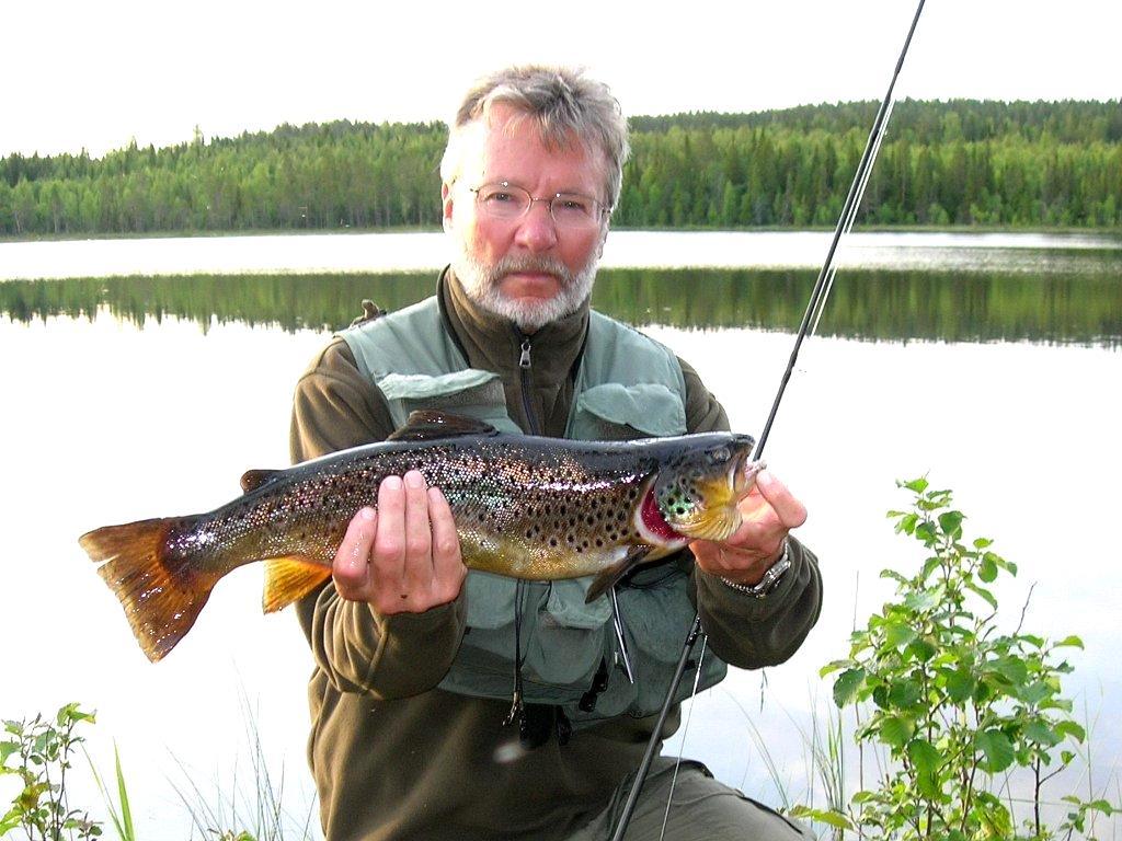 En Drömfiskefångst. Foto Hällesjö fvo