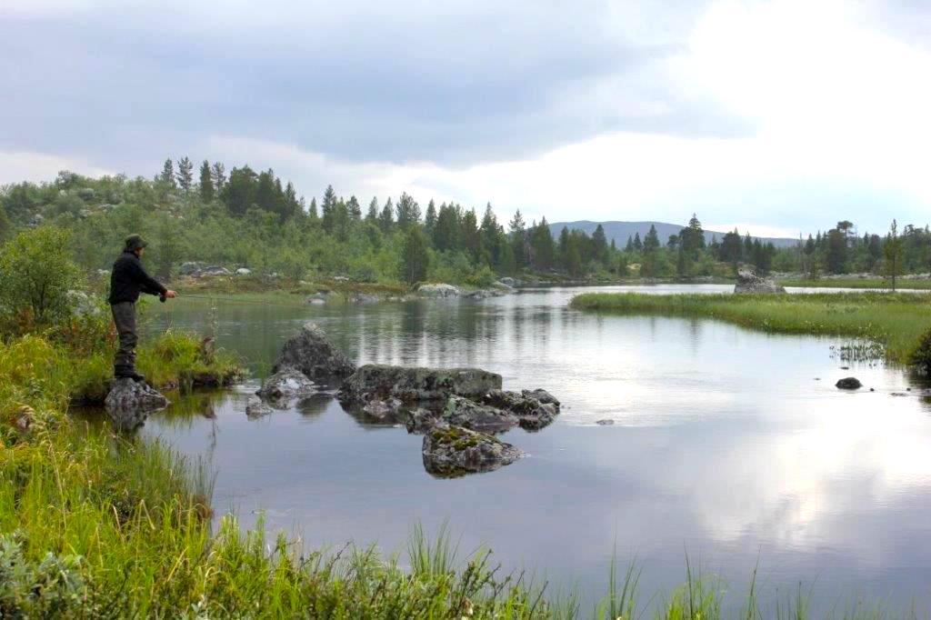 Fisketur hos Strapatser i Funäsdalen. Foto Jon Wagenius