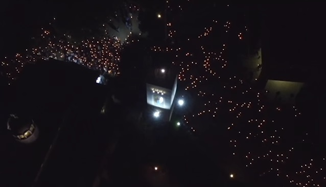 Хиляди бургазлии запалиха свещи на Великден