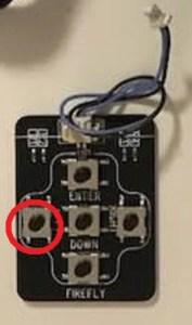 firefly2用設定コントローラーの設定開始ボタン