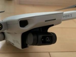 DJI Mini2の4Kカメラ