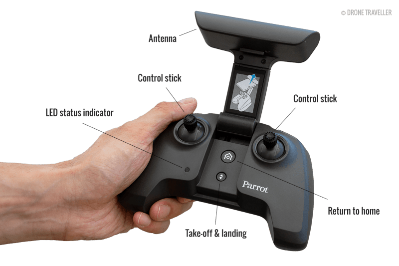Front of the Skycontroller 3