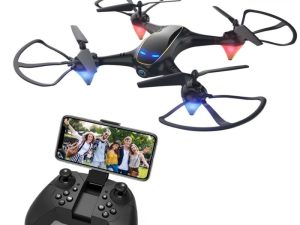 drone-zoom WiFi FPV 4K Camera Optical Flow 1080P HD Dual Camera RC Quadcopter