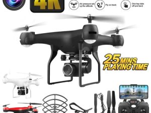 drone-zoom-Drone 4k Helicopter Of Remoto Control Drone Profissional Quadcopter Kit 1080p Drone With Camera Live Video Waterproof Propelers