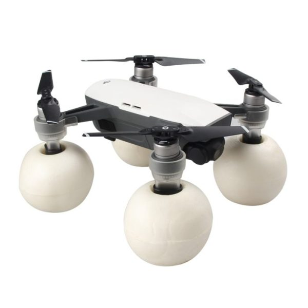 drone-zoom-Water Snow Floating Landing Gear for DJI Spark Drone Floating Landing Kit for DJI Spark Accessory