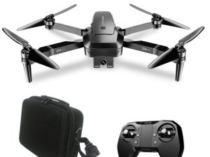 drone-zoom - OTPRO Mini Foldable 4K WIFI Camera Double Professional Drone GPS RC Helicopter Brushless Motor Intelligent Following Quadcopter