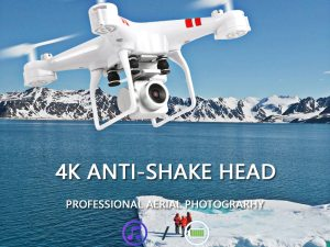 drone-zoom - New Drone 4k camera HD Wifi transmission fpv drone air pressure fixed height four-axis aircraft rc helicopter with camera