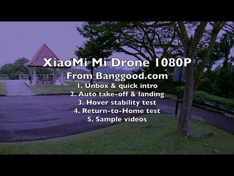 The NEW XiaoMi Mi Drone 1080P (fixed bugs, fine-tuned, mass production edition) – Part 1 – Review
