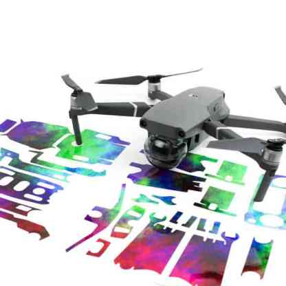 Rainbow Clouds Drone Skin Wrap DJI Mavic 2 Zoom Mavic 2 Pro