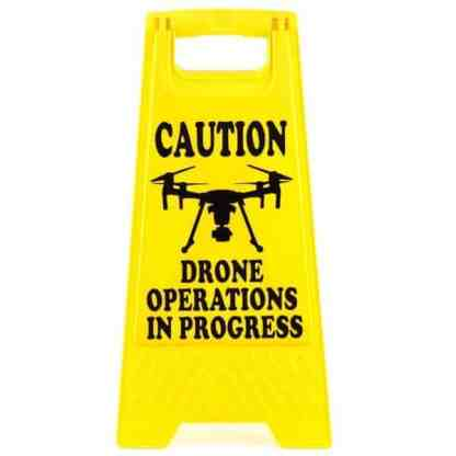Drone Pilot Safety A Frame Drone Operations Matrice Front View 2