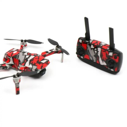 Red Rock Drone Skin Wrap Stickers for DJI Mavic Mini Front View