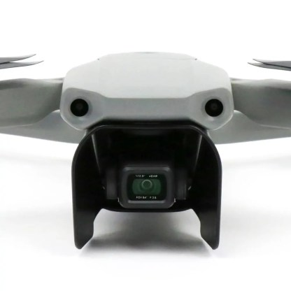 Lens Sunhood for DJI Mavic Air 2 shown on the drone from front