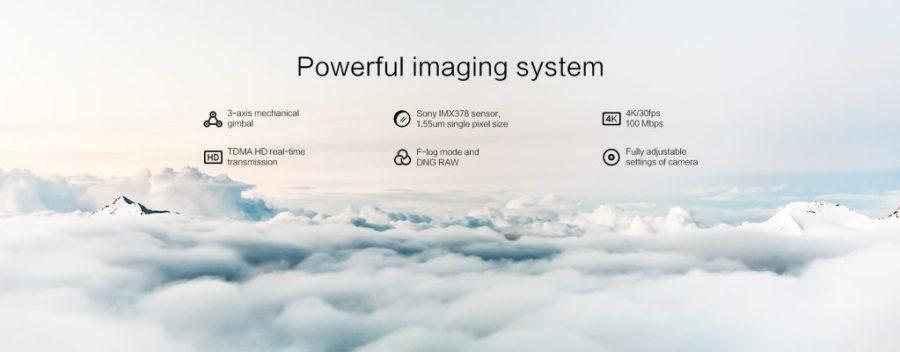 Xiaomi FIMI-X8 SE drone camera
