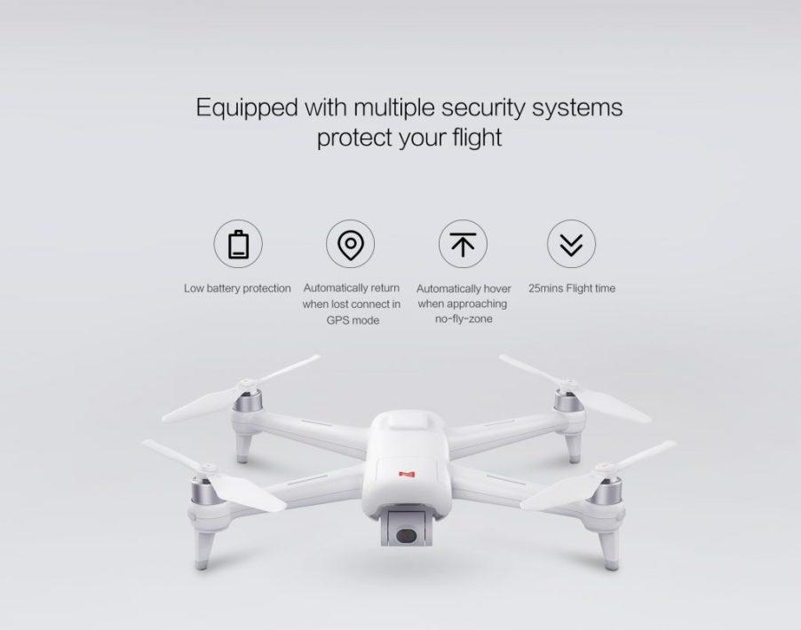 Xiaomi FIMI A3 Drone flight features
