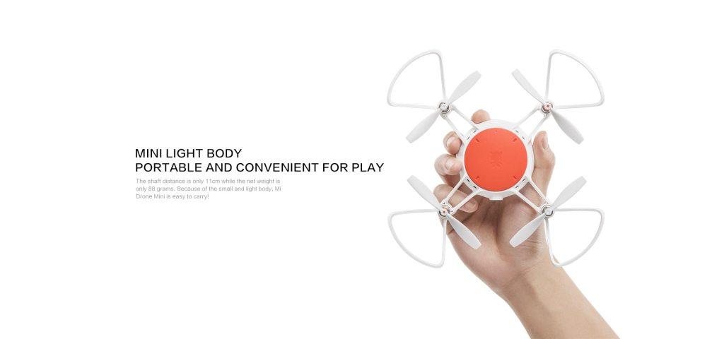 Xiaomi Mi mini drone design