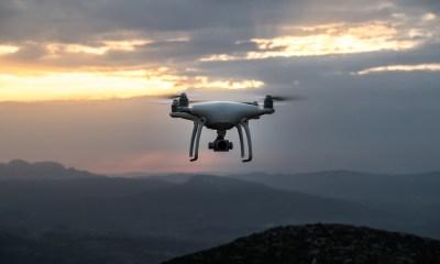 Dawn drone in Africa