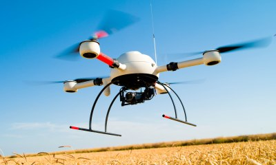 An agricultural drone from Microdornes