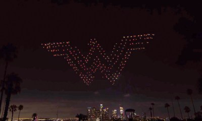 Wonder Woman in the Sky