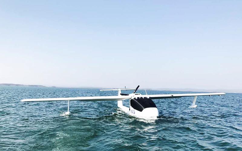 UVS U650 sea drone on ocean