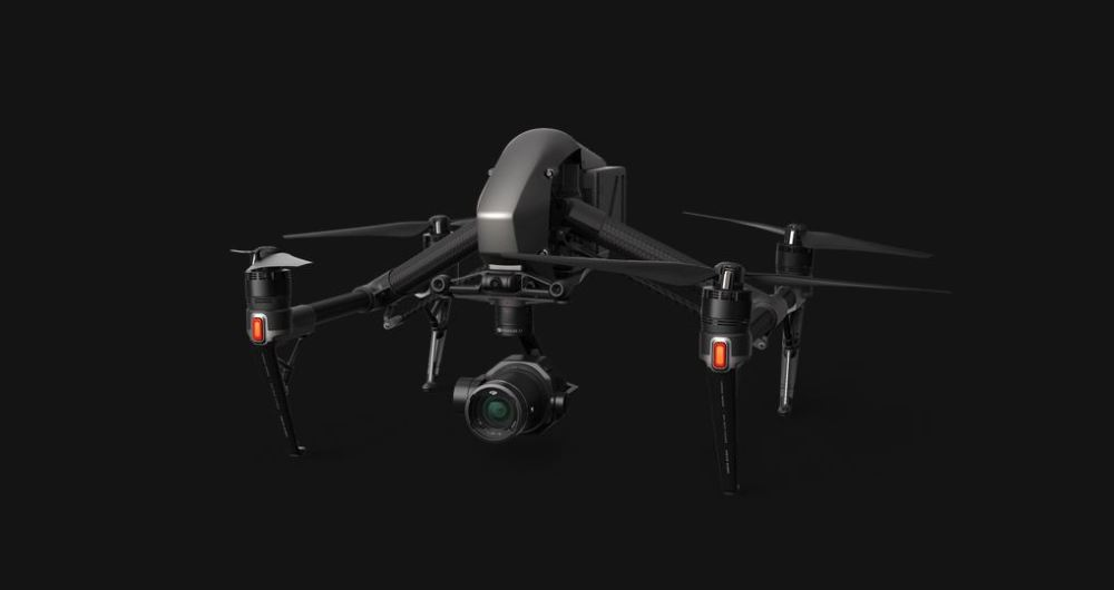 DJI Inspire 2 drone and Zenmuse X7