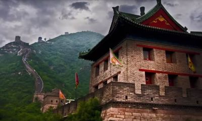 Great Wall of China Drone Footage