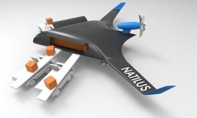 Natilus Cargo-Scale Drones