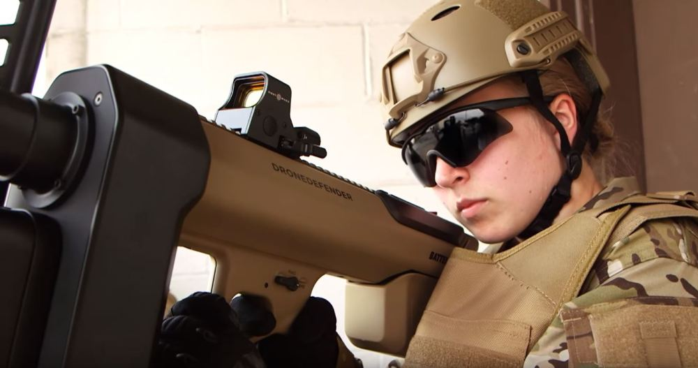 Battelle DroneDefender® Counter-UAS Device