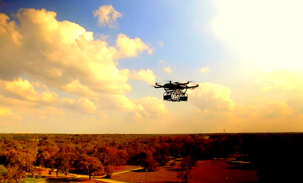 HorseFly is a fully autonomous, optionally piloted, Unmanned Aerial System (UAS)