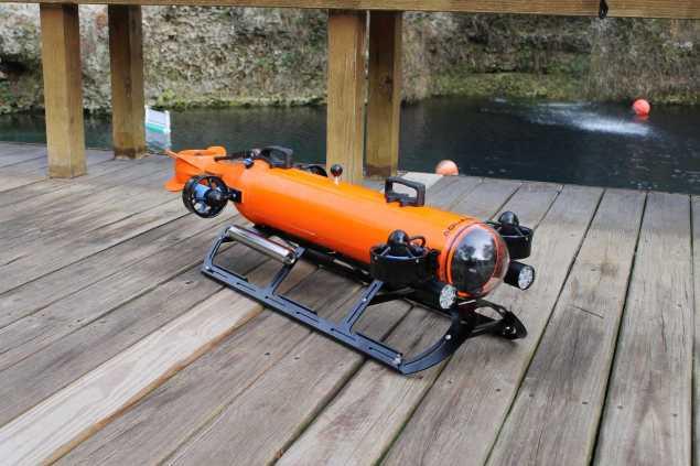 Aquabotix AUV/ROV Hybrid Drone