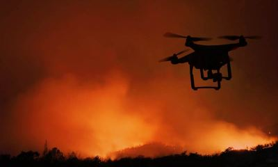 Drones in Firefighting
